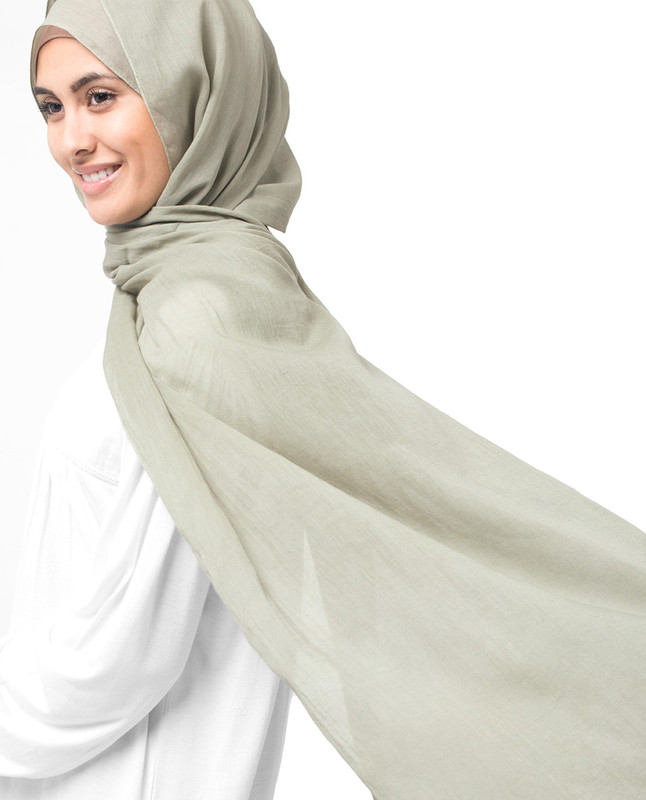 London Fog Cotton Voile Hijab