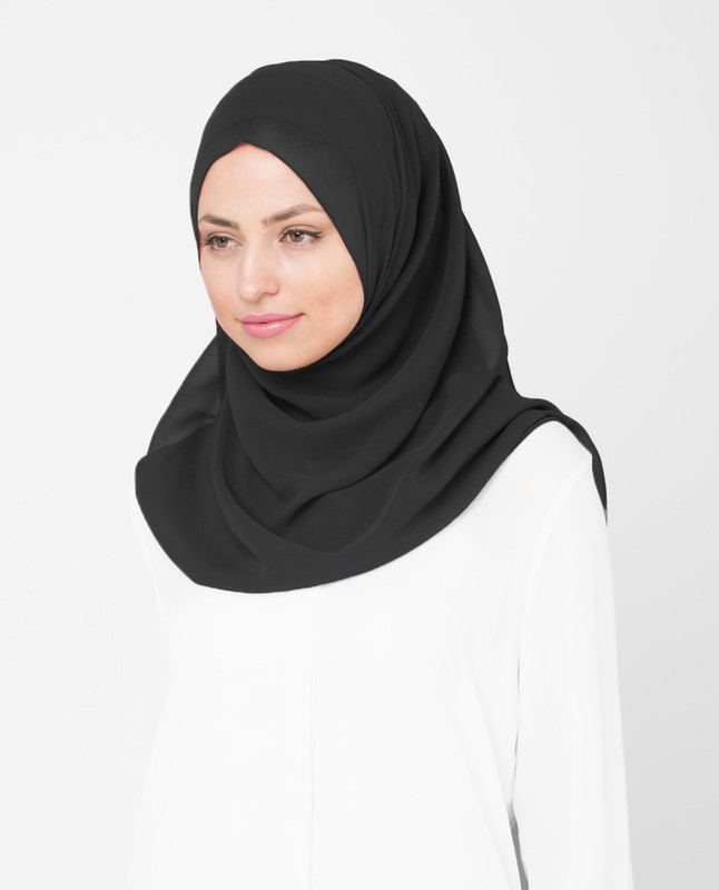Nine Iron Poly Georgette Hijab