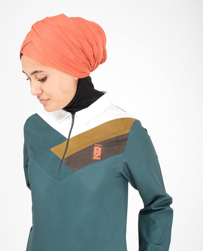 Collar abaya jilbab