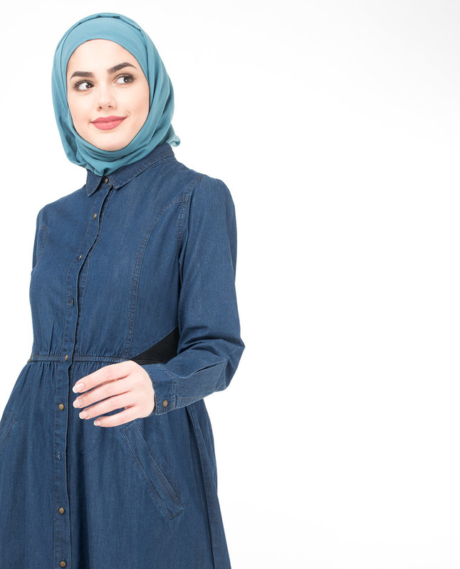 Full open abaya jilbab