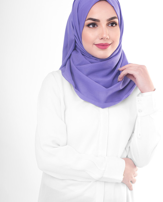 Cotton voile hijab scarf