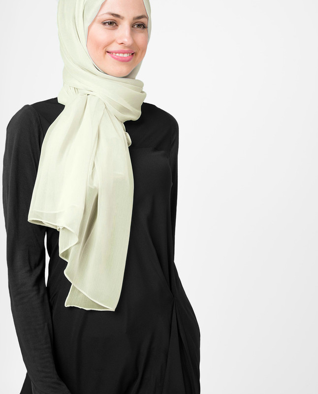 Poly chiffon hijab scarf