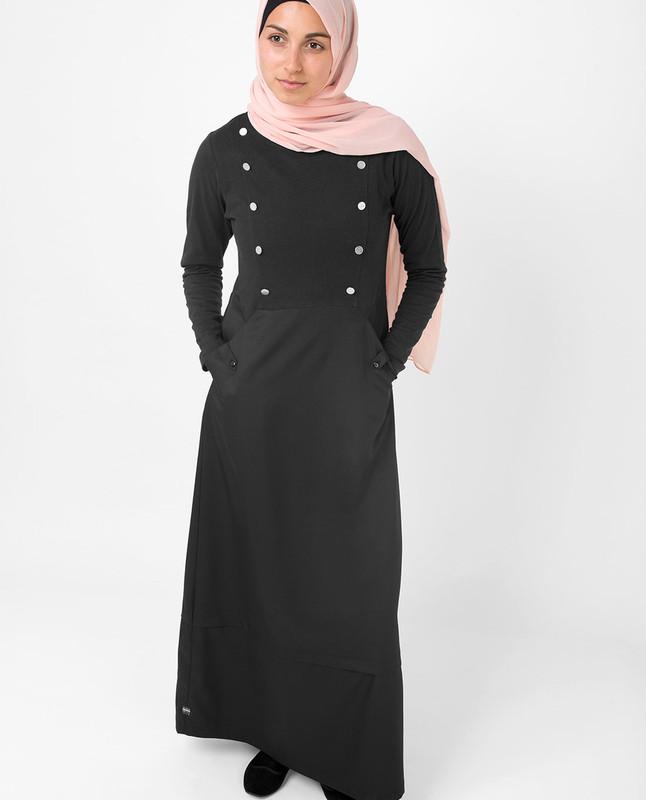 Black Smart Sister Jilbab