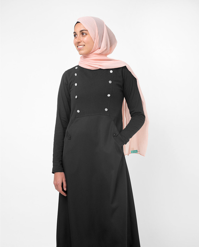Black Smart Sister Jilbab