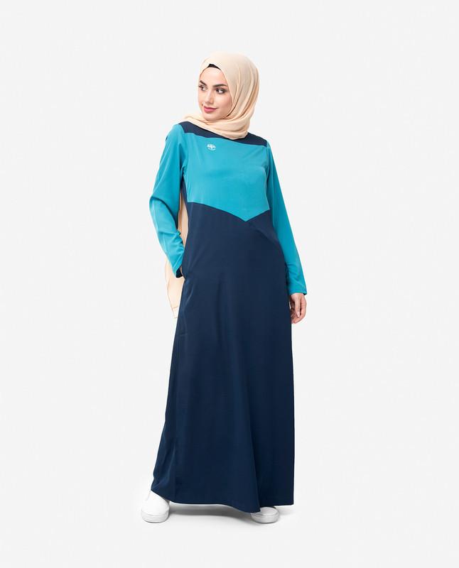 Buy navy abaya jilbab