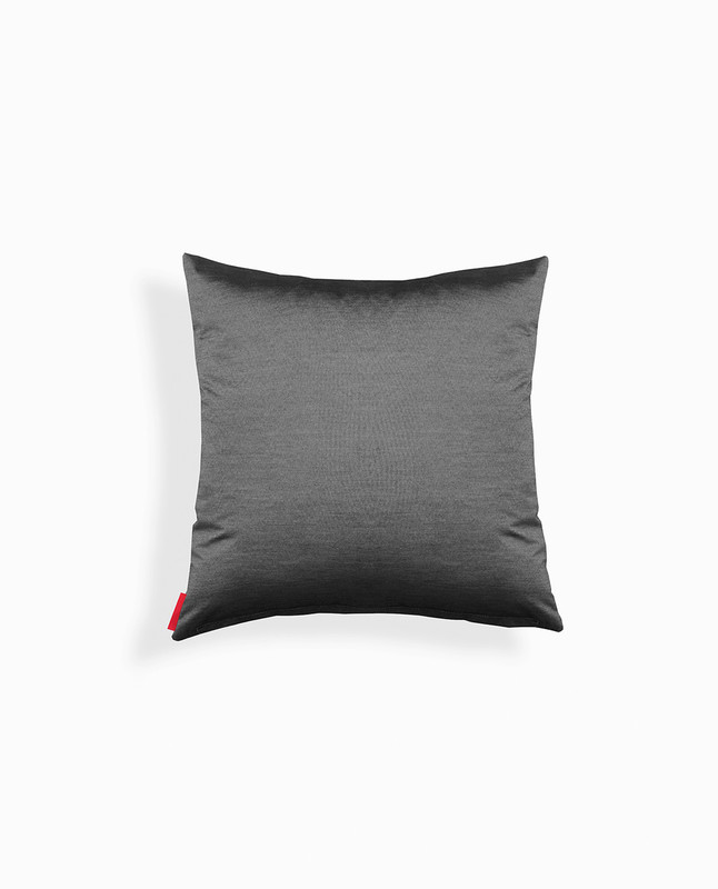 'Love' Arabic Calligraphy Cushion Cover - Black / Silver