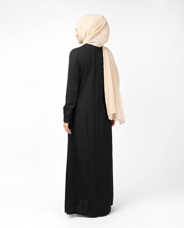 Oriental Black Abaya