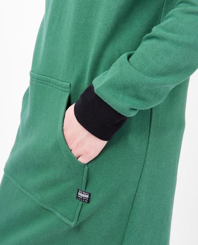 Kangaroo Pocket Hooded Midi