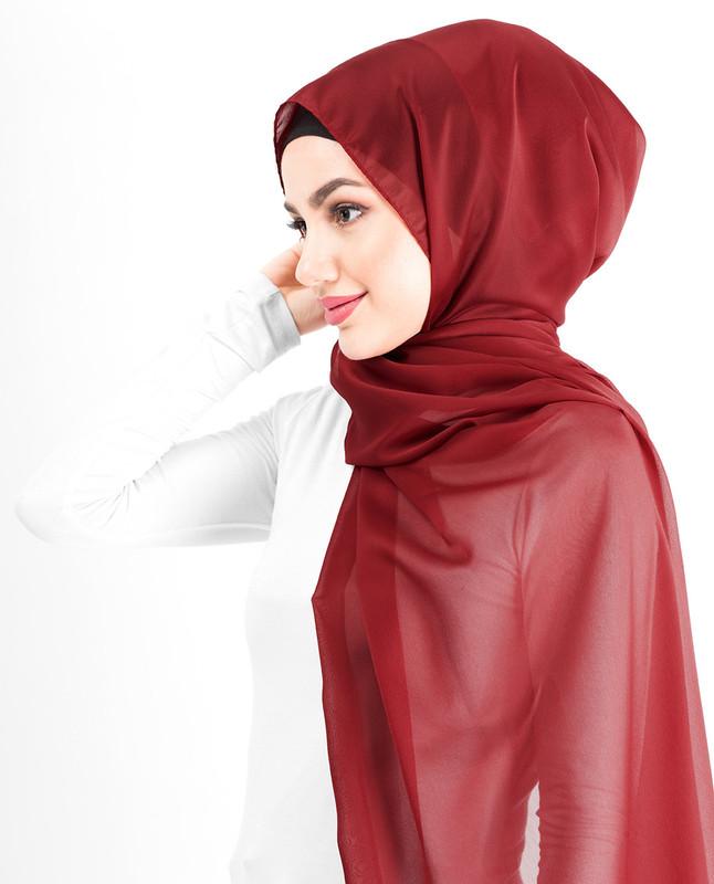 New Tango Silky Poly Georgette Hijab