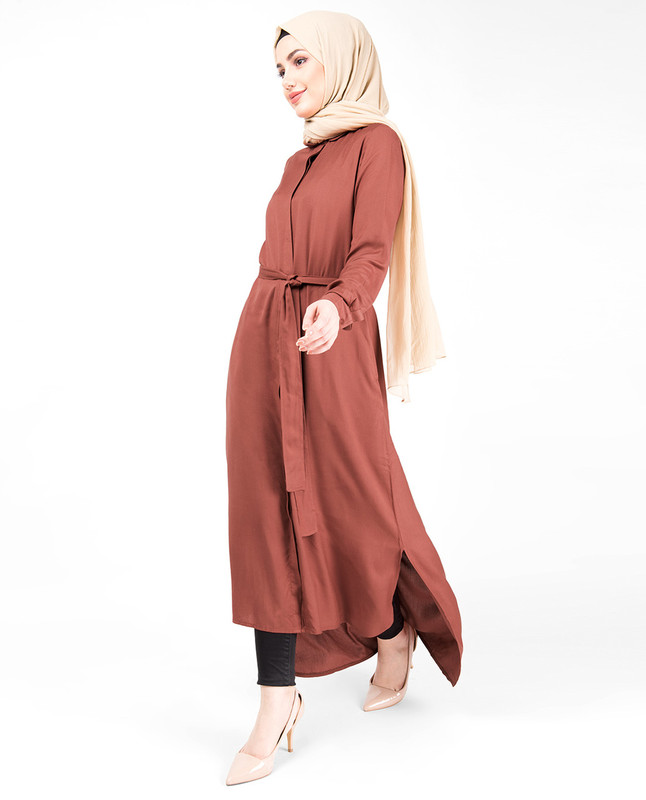 Chutney High Low Shirt Dress