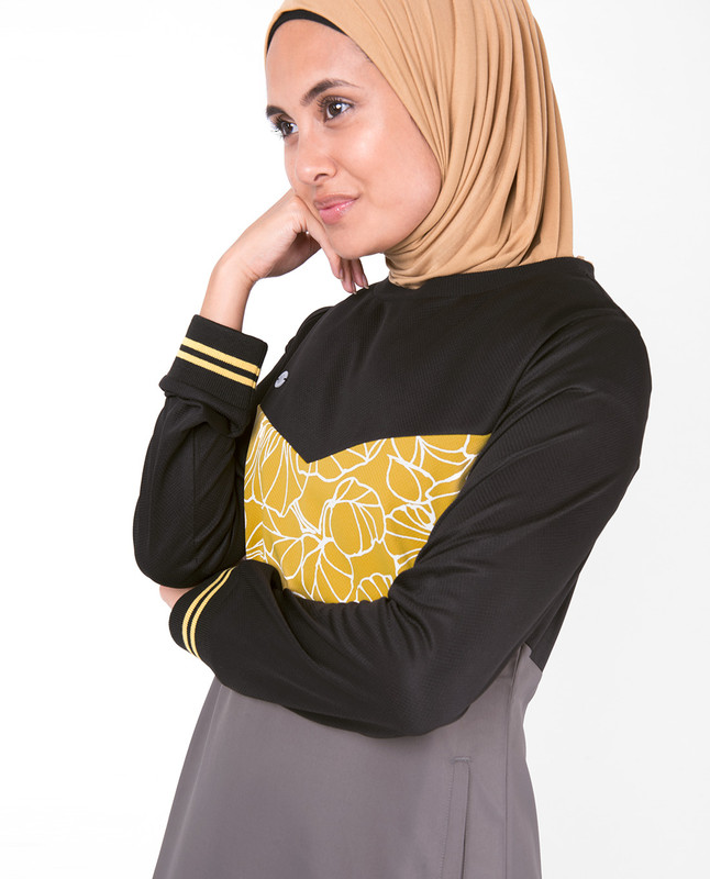 Nomad Abstract Print Jilbab