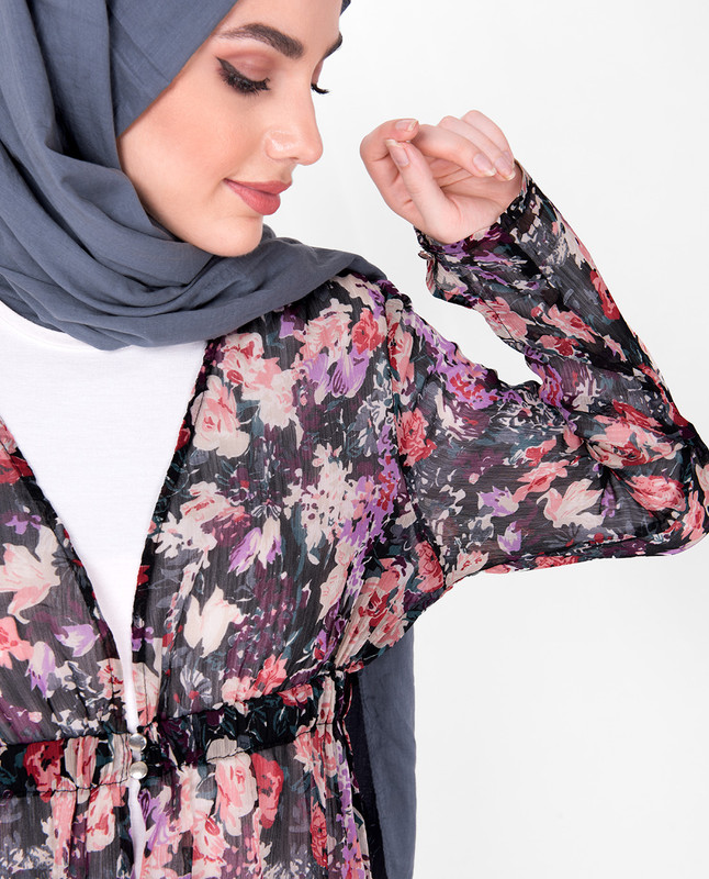 Floral Sheer Outerwear