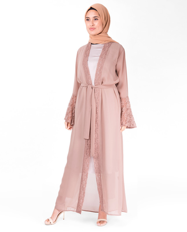 Lace Bell Sleeve Outerwear