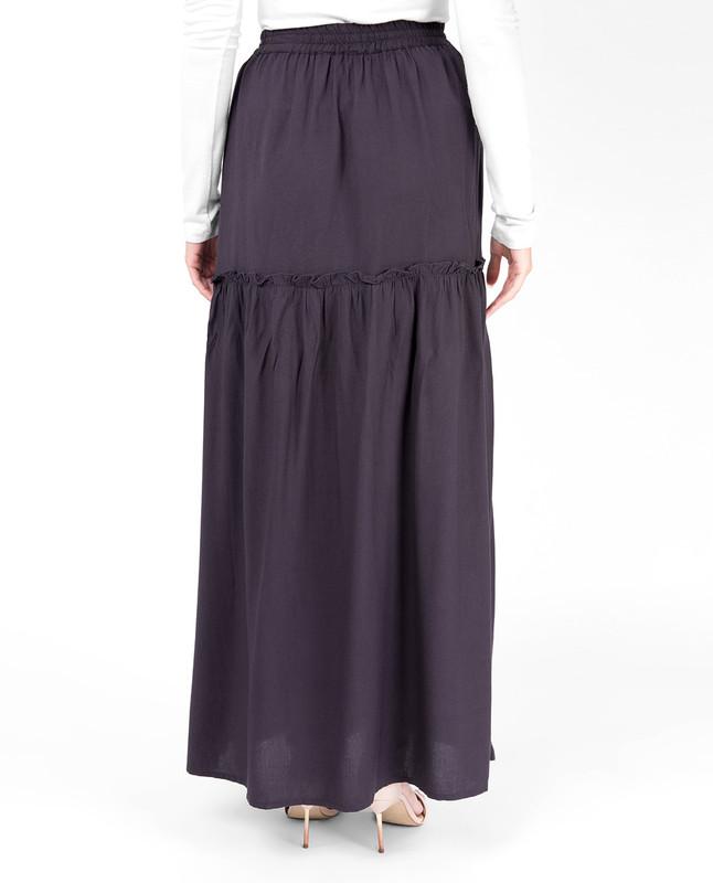Nine Iron Ruffled Skirt