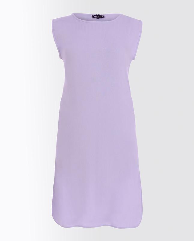 Ballad Blue Rayon Slip Dress