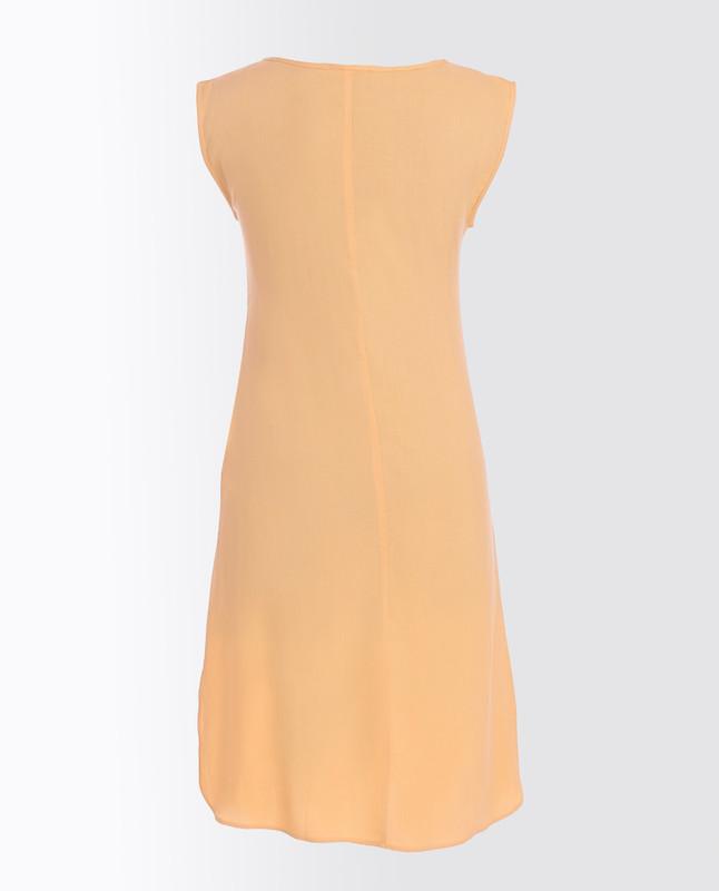 Rattan Yellow Rayon Slip Dress