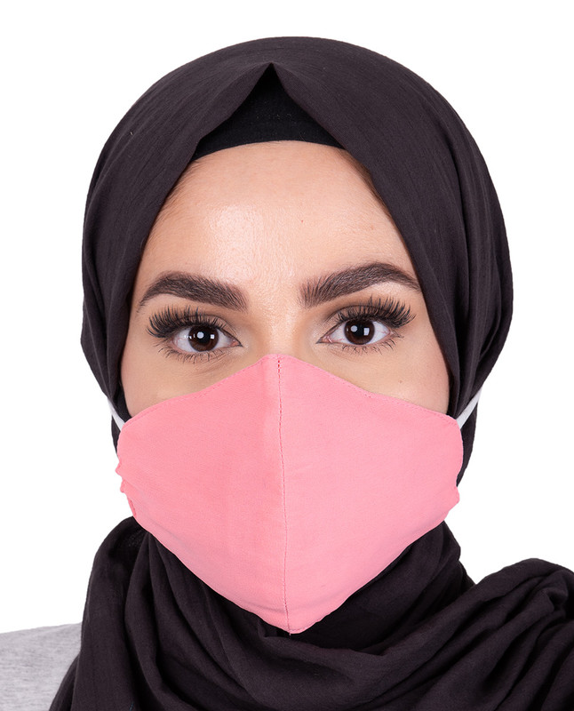 Strawberry Ice  Hijab Friendly Toggle Fabric Mask