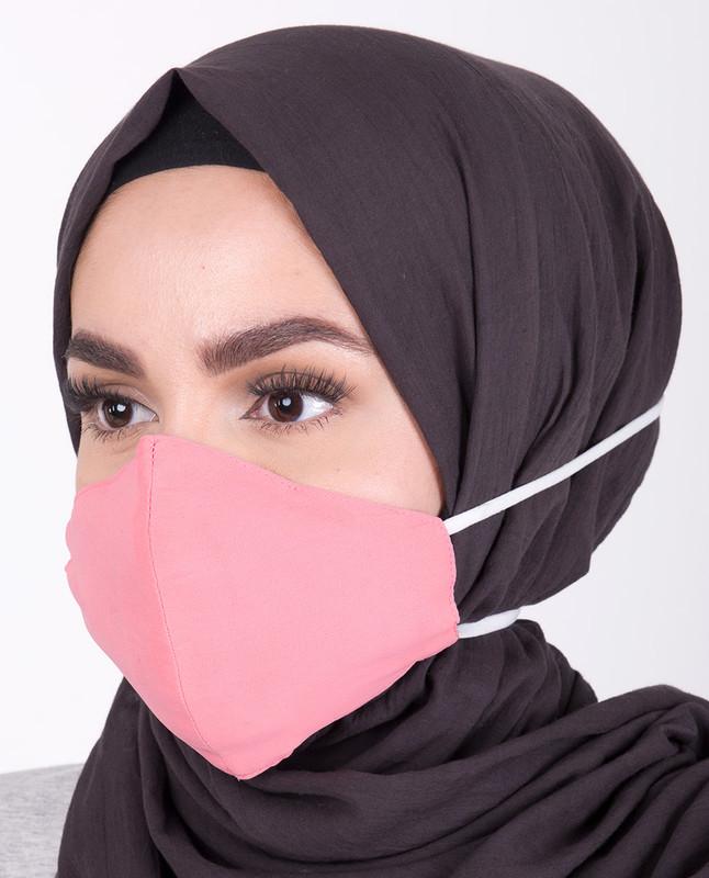 Strawberry Ice  Hijab Friendly Toggle Fabric Mask