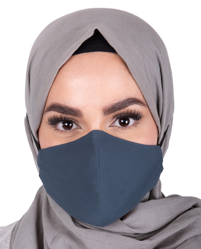 Blue Horizon Hijab Friendly Toggle Fabric Mask