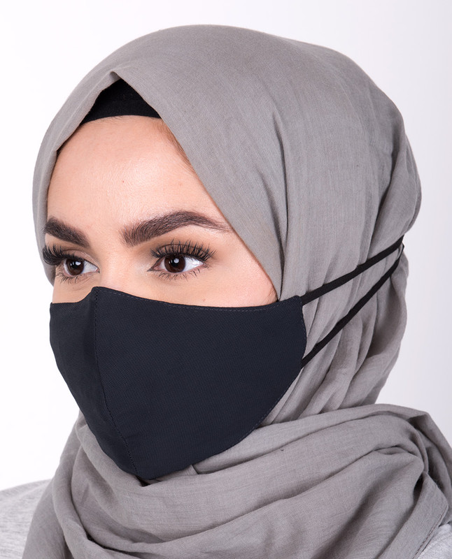 Total Eclipse Hijab Friendly Toggle Fabric Mask