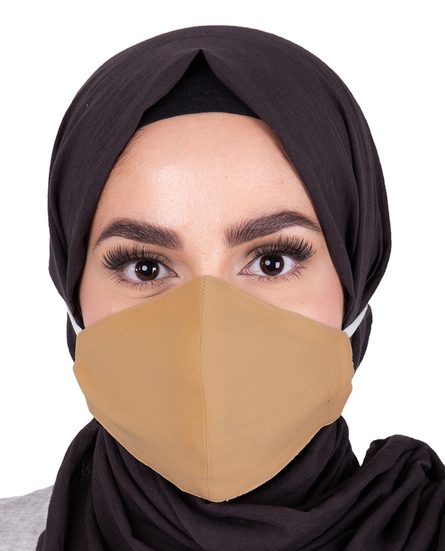 Rattan Hijab Friendly Toggle Fabric Mask