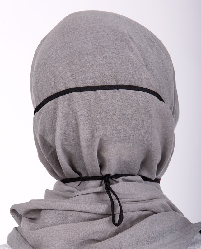 Amaranth Hijab Friendly Toggle Fabric Mask