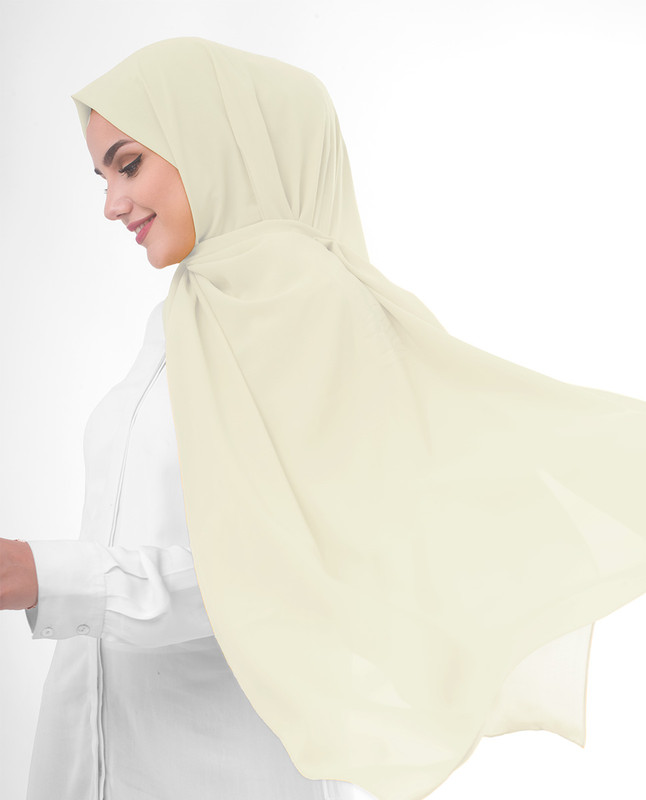 Sandshell Poly Georgette Scarf