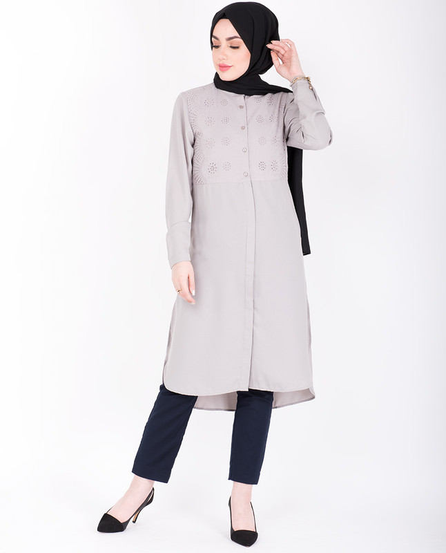 Shifley Dove Shirt Dress