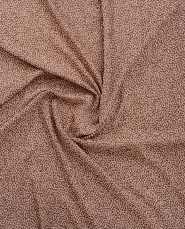 Gilded Beige Printed Chiffon Scarf