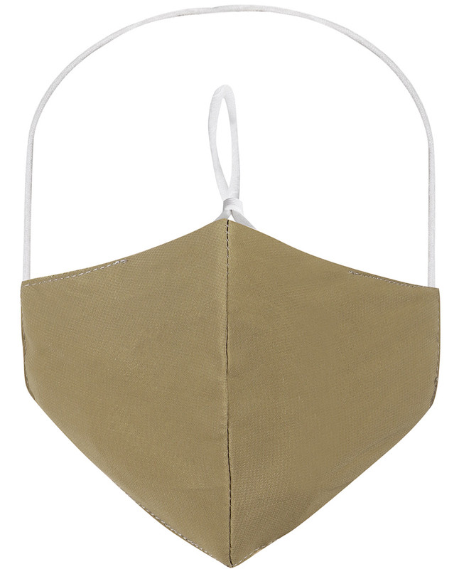 Lemon Grass Hijab Friendly Plain Toggle Cloth Mask