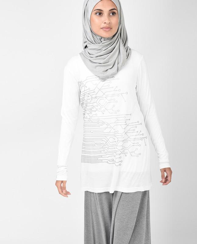 Off White Tshirt (long sleeve)