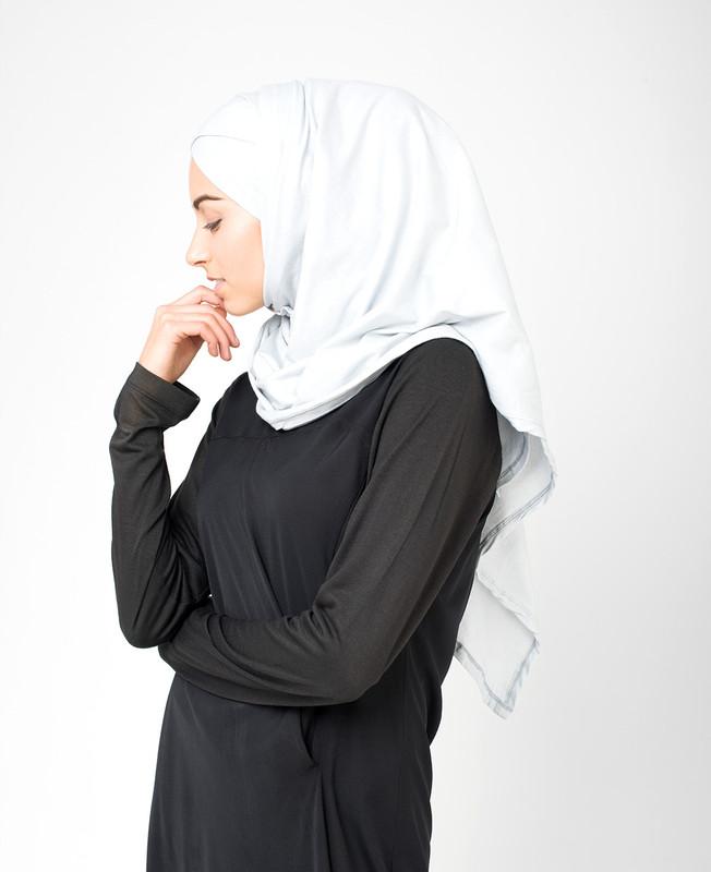 Vapor Blue Jersey Hijab