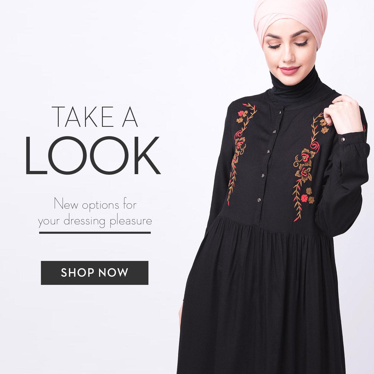 New arrival Abaya Jilbab Midi Shirt Modestfashion