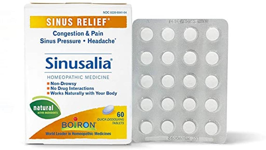 Boiron Sinusalia Tablets