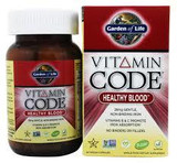 Garden Of Life Raw Vitamin Code Healthy Blood