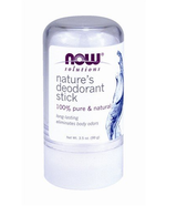 NOW Natures Deodorant crystal Stick