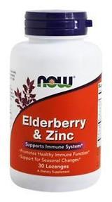NOW Elderberry & Zinc Chewables 30ct