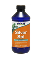 NOW Silver Sol 8 oz