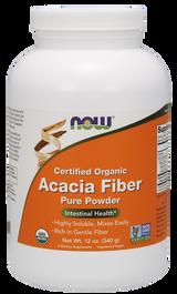 NOW Organic Acacia Fiber Powder