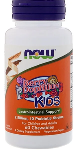 Now Berry Dolph Kids probiotic 60 count