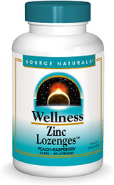 Source Naturals Wellness Zinc Lozenges 60ct