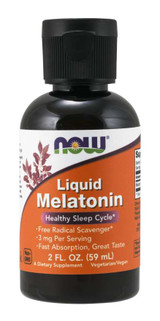 Now Liquid Melatonin 2fl