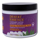 Desert Essence Cannabis Sativa & White Ginger Cleansing Pads