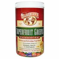 Barleans Superfruit Greens Strawberry Kiwi Powder Formula
