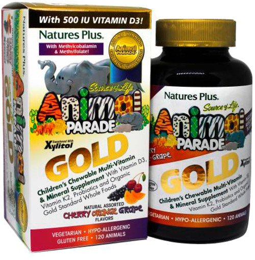 Animal Parade Gold Chewable Assorted 120ct