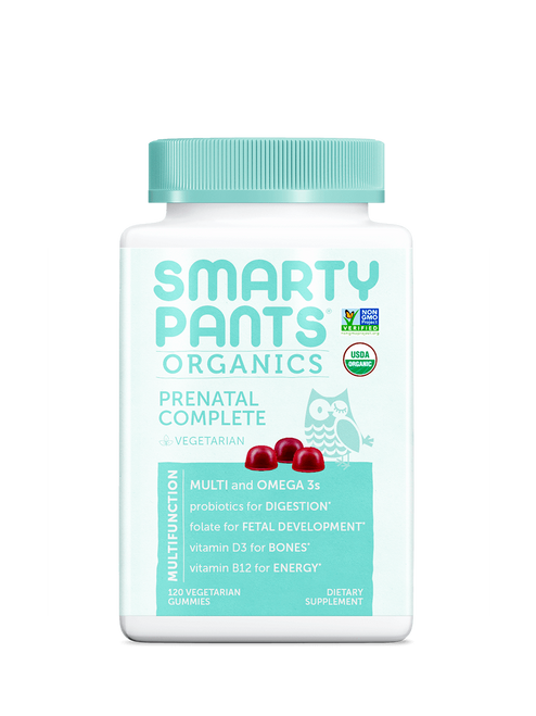 Smarty Pants Organic Prenatal Complete Gummies