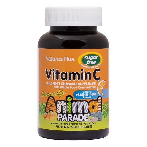 Natures Plus Animal Parade Vitamin C Chewable