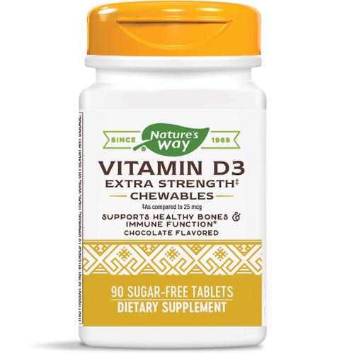 Natures way Vitamin D Chewable 2,000IU