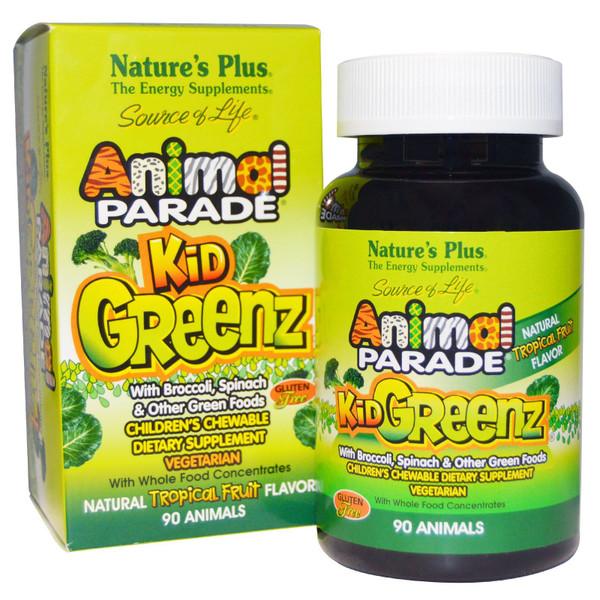 Animal Parade KidGreenz Chewables