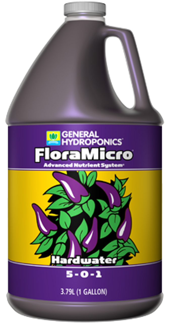 Flora Micro Hard water 4L. If your tap water is over 250 ppm or contains calcium above 70 ppm